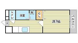 永田第2ビル[310号室]の間取り