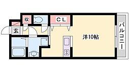 ハイトピア姫路[5階]の間取り