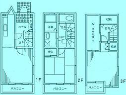 WILL宮崎台[1階]の間取り