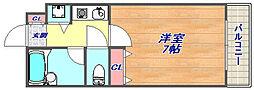 シャトラン弓木一番館[106号室]の間取り