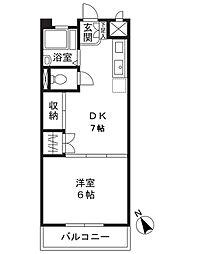 市ヶ尾内野ビル[2階]の間取り