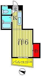 ハイツアキラ[2階]の間取り