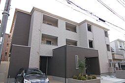 兵庫県尼崎市水堂町1丁目の賃貸アパートの外観