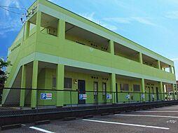 愛知県岡崎市日名西町の賃貸アパートの外観
