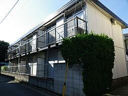 東京都目黒区下目黒6丁目の賃貸アパートの外観