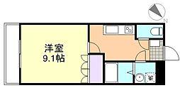 メゾン羽島[1階]の間取り