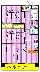 東京都足立区青井4丁目の賃貸マンションの間取り