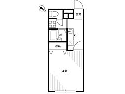 アムール琴[1階]の間取り