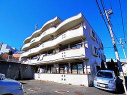 埼玉県朝霞市浜崎4丁目の賃貸マンションの外観