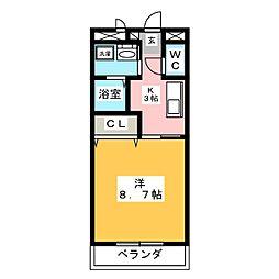 GRACE大井 I[1階]の間取り