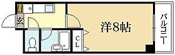 アーベイン吉田[4階]の間取り