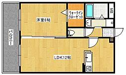 ケープラス[6階]の間取り