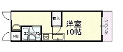 OMレジデンス柏原II[3階]の間取り