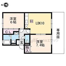 木津駅 4.4万円