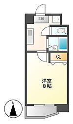 グランディール名駅[6階]の間取り