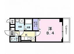 コスモ・ディエース[8階]の間取り