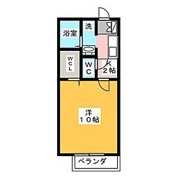 マ・メゾン新川[2階]の間取り