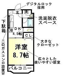 北野駅 5.7万円