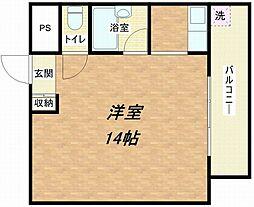 パディーブレイドII[6階]の間取り