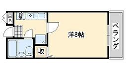 Rinon脇浜[202号室]の間取り