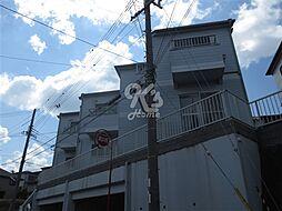 兵庫県明石市朝霧南町4丁目の賃貸アパートの外観