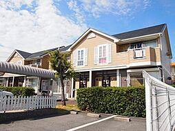 兵庫県姫路市飾磨区構5丁目の賃貸アパートの外観
