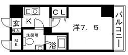 プレステージレジデンス谷町[514号室号室]の間取り