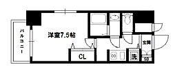 アドバンス新大阪VIビオラ[9階]の間取り