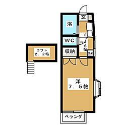 グレートインシバタII[2階]の間取り