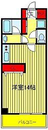 オアシス 2000[307号室]の間取り