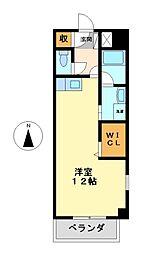 メゾンドプランタン[9階]の間取り