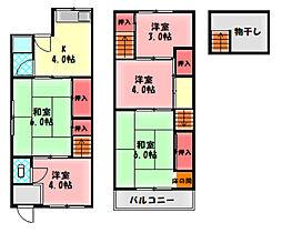 京阪本線 西三荘駅 徒歩14分の賃貸一戸建て