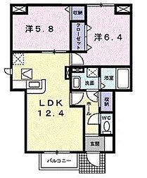 ファミ−ルコ−トK・S[0101号室]の間取り