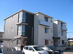 奈良県大和郡山市今国府町の賃貸アパートの外観