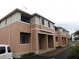 埼玉県深谷市曲田の賃貸アパートの外観