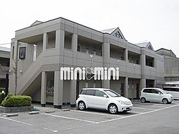 マンションアーク弐番館[1階]の外観