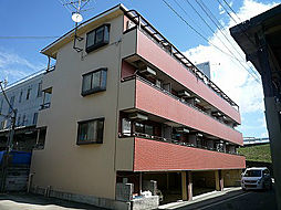 大阪府高槻市津之江町1丁目の賃貸マンションの外観