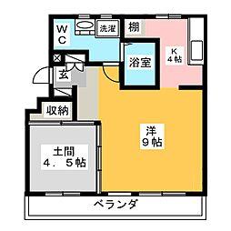 Re・Luffy[2階]の間取り