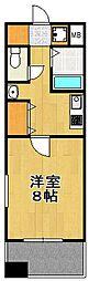 エンクレスト天神東II[2階]の間取り
