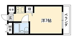 スラン76[2階]の間取り