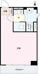 幡ヶ谷中央ビル[4階]の間取り