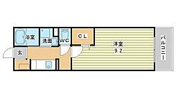 兵庫県姫路市北条梅原町の賃貸マンションの間取り