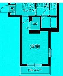 東京都豊島区東池袋の賃貸マンションの間取り