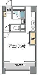 ルネシアガーデン[3階]の間取り