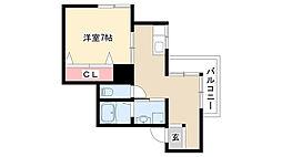 愛知県名古屋市瑞穂区春山町5丁目の賃貸マンションの間取り