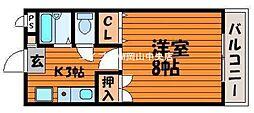 サンツボイIII[4階]の間取り