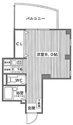ORG UEMATI(オルグ上町)[1202号室号室]の間取り