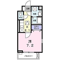 埼玉県さいたま市北区日進町3丁目の賃貸アパートの間取り