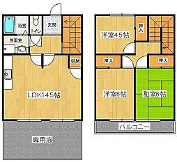 メゾンドールMURATA[1階]の間取り