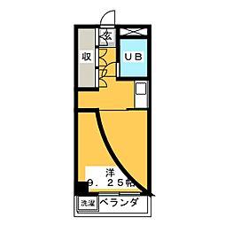 エーダイロイヤルプラザ[6階]の間取り